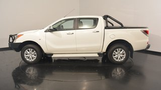 2014 Mazda BT-50 UP0YF1 GT White 6 Speed Manual Utility.