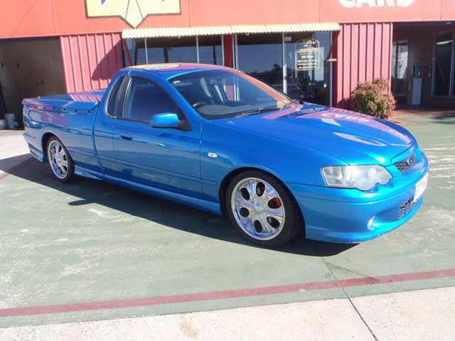 Used Ford Falcon BA XR8 Ute Super Cab, 2003 Ford Falcon BA XR8 Ute Super Cab Blueprint 4 Speed Sports Automatic Utility