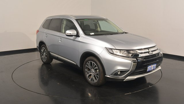 Used Mitsubishi Outlander ZK MY17 LS 4WD, 2017 Mitsubishi Outlander ZK MY17 LS 4WD Cool Silver 6 Speed Constant Variable Wagon