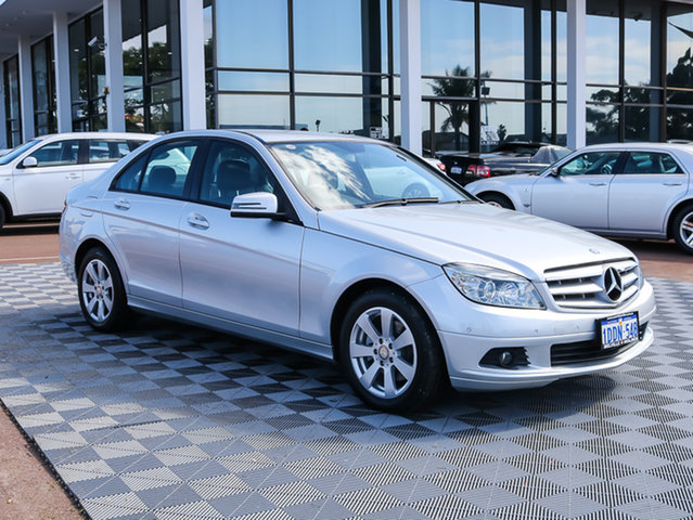 Used Mercedes-Benz C200 Kompressor W204 Classic, 2009 Mercedes-Benz C200 Kompressor W204 Classic Silver 5 Speed Sports Automatic Sedan