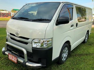 2014 Toyota HiAce KDH201R MY14 LWB White 5 Speed Manual Van