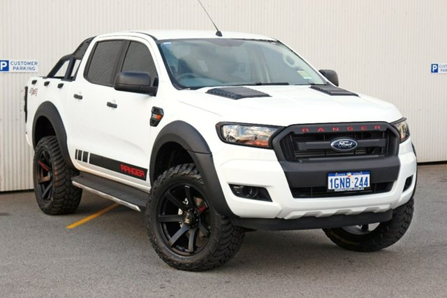 Used Ford Ranger PX MkII MY18 XL Double Cab, 2017 Ford Ranger PX MkII MY18 XL Double Cab White 6 Speed Sports Automatic Utility
