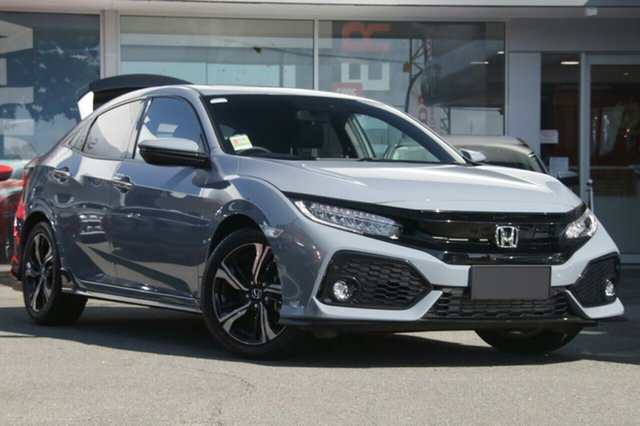 New Honda Civic 10th Gen MY18 RS, 2018 Honda Civic 10th Gen MY18 RS Sonic Grey 1 Speed Constant Variable Hatchback