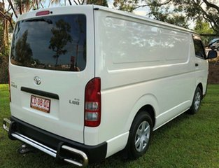 2014 Toyota HiAce KDH201R MY14 LWB White 5 Speed Manual Van.