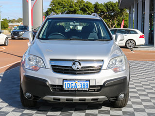 2009 Holden Captiva CG MY10 5 Silver 5 Speed Manual Wagon.