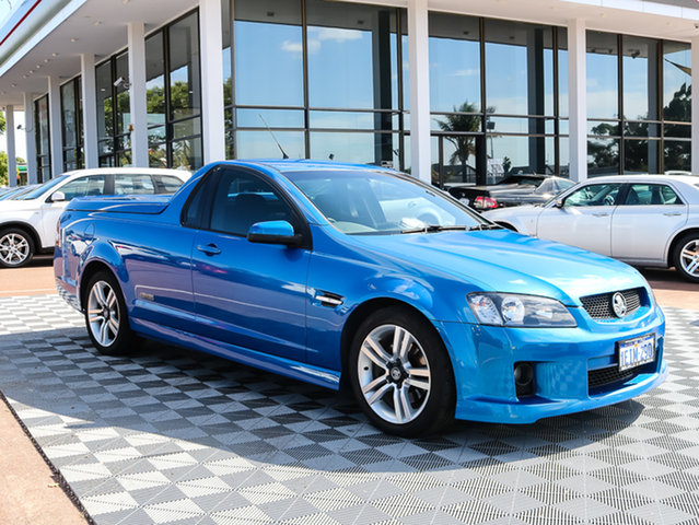 Used Holden Ute VE SS, 2008 Holden Ute VE SS Blue 6 Speed Manual Utility