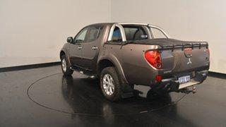 2013 Mitsubishi Triton MN MY13 GLX-R Double Cab Brown 5 Speed Manual Utility.
