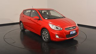 2017 Hyundai Accent RB4 MY17 SR Red 6 Speed Sports Automatic Hatchback.