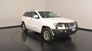 2014 Jeep Grand Cherokee WK MY15 Overland Bright White 8 Speed Sports Automatic Wagon.