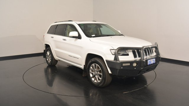 Used Jeep Grand Cherokee WK MY15 Overland, 2014 Jeep Grand Cherokee WK MY15 Overland Bright White 8 Speed Sports Automatic Wagon