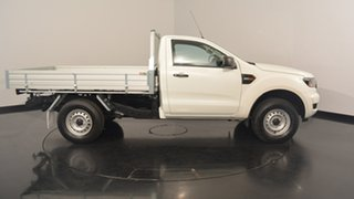 2016 Ford Ranger PX MkII XL 4x2 Hi-Rider Cool White 6 Speed Manual Cab Chassis