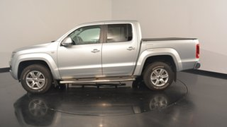 2013 Volkswagen Amarok 2H MY14 TDI420 4Motion Perm Highline Silver 8 Speed Automatic Utility.
