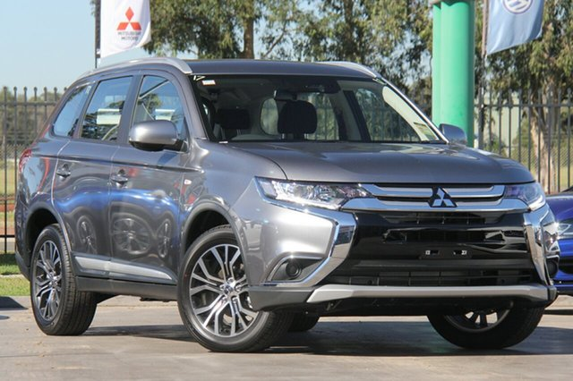 New Mitsubishi Outlander ZL MY18.5 ES AWD, 2018 Mitsubishi Outlander ZL MY18.5 ES AWD Titanium 6 Speed Constant Variable Wagon