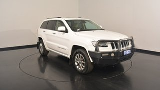2014 Jeep Grand Cherokee WK MY15 Overland Bright White 8 Speed Sports Automatic Wagon