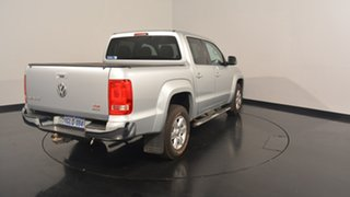 2013 Volkswagen Amarok 2H MY14 TDI420 4Motion Perm Highline Silver 8 Speed Automatic Utility