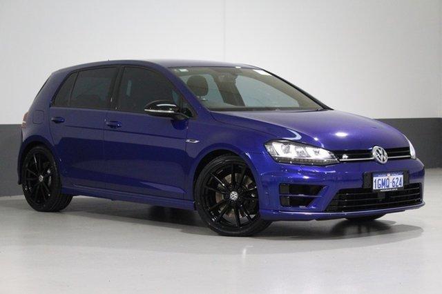 Used Volkswagen Golf AU MY16 R Wolfsburg Edition, 2015 Volkswagen Golf AU MY16 R Wolfsburg Edition Blue 6 Speed Direct Shift Hatchback