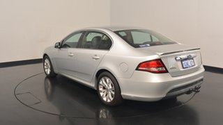 2012 Ford Falcon FG MkII G6 Limited Edition Silver 6 Speed Sports Automatic Sedan.