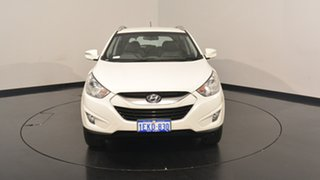 2013 Hyundai ix35 LM2 Elite Vanilla White 6 Speed Sports Automatic Wagon