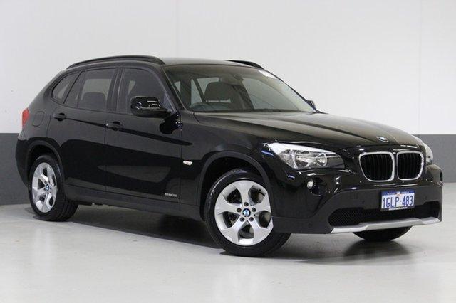 Used BMW X1 E84 MY11 sDrive 18I, 2012 BMW X1 E84 MY11 sDrive 18I Black 6 Speed Automatic Wagon