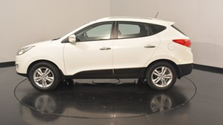 2013 Hyundai ix35 LM2 Elite Vanilla White 6 Speed Sports Automatic Wagon.