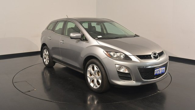 Used Mazda CX-7 ER1032 Luxury Activematic Sports, 2009 Mazda CX-7 ER1032 Luxury Activematic Sports Silver 6 Speed Sports Automatic Wagon