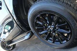 2018 Mitsubishi Triton MQ MY18 Blackline Double Cab Pitch Black 5 Speed Sports Automatic Utility