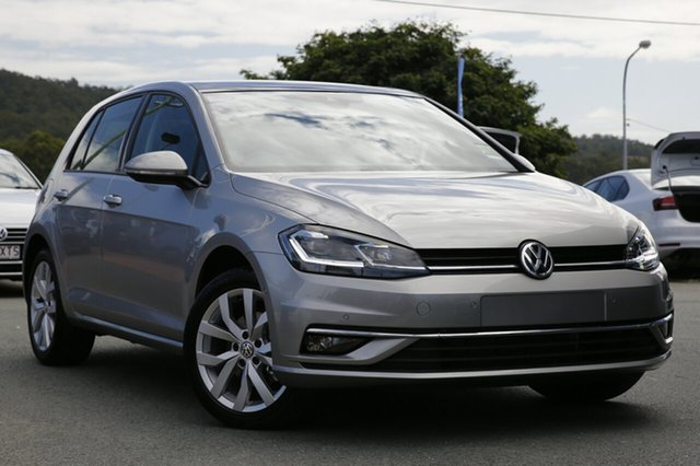 New Volkswagen Golf 7.5 MY18 110TSI DSG Highline, 2018 Volkswagen Golf 7.5 MY18 110TSI DSG Highline Tungsten Silver 7 Speed