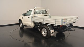 2016 Ford Ranger PX MkII XL 4x2 Hi-Rider Cool White 6 Speed Manual Cab Chassis.