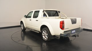 2013 Nissan Navara D40 S5 MY12 ST-X Silver 7 Speed Sports Automatic Utility.