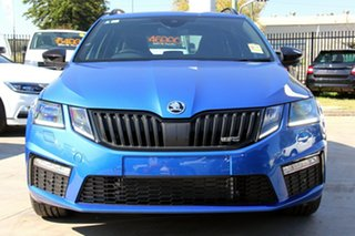 2020 Skoda Octavia NE MY20.5 RS DSG 245 Race Blue 7 Speed Sports Automatic Dual Clutch Wagon