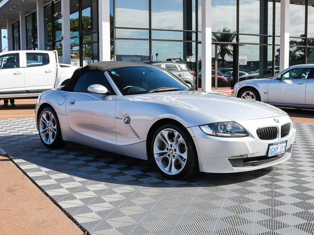 Used BMW Z4 E85 MY07 Steptronic, 2007 BMW Z4 E85 MY07 Steptronic Silver 6 Speed Sports Automatic Roadster