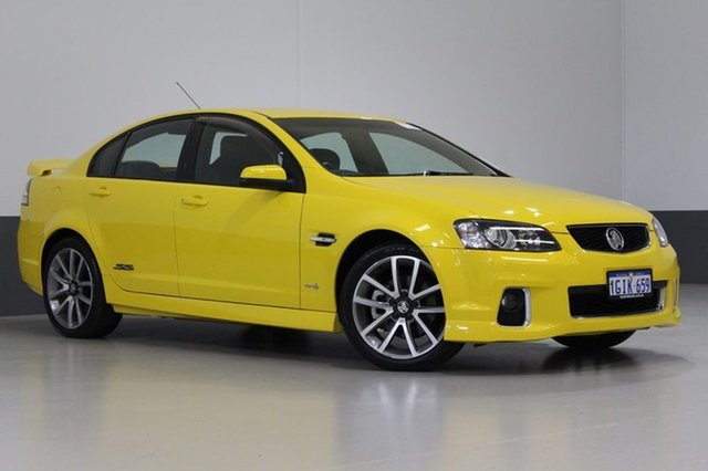 Used Holden Commodore VE II SS-V, 2011 Holden Commodore VE II SS-V Yellow 6 Speed Automatic Sedan