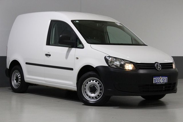 Used Volkswagen Caddy 2K MY13 TSI160, 2013 Volkswagen Caddy 2K MY13 TSI160 White 5 Speed Manual Van