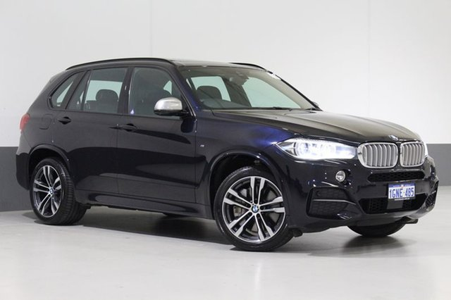 Used BMW X5 F15 M50D, 2013 BMW X5 F15 M50D Black 8 Speed Automatic Wagon