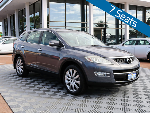 Used Mazda CX-9 TB10A1 Luxury, 2008 Mazda CX-9 TB10A1 Luxury Grey 6 Speed Sports Automatic Wagon