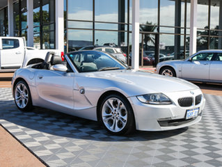 2007 BMW Z4 E85 MY07 Steptronic Silver 6 Speed Sports Automatic Roadster.