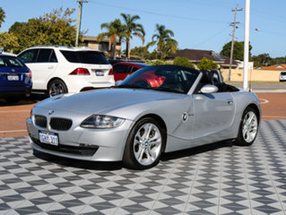 2007 BMW Z4 E85 MY07 Steptronic Silver 6 Speed Sports Automatic Roadster
