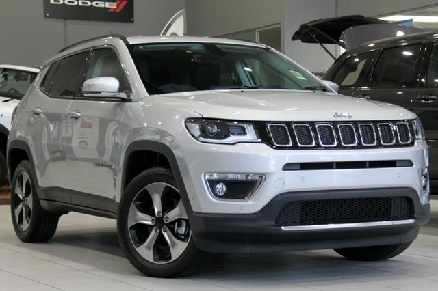 New Jeep Compass M6 MY18 Limited, 2017 Jeep Compass M6 MY18 Limited Minimal Grey 9 Speed Automatic Wagon