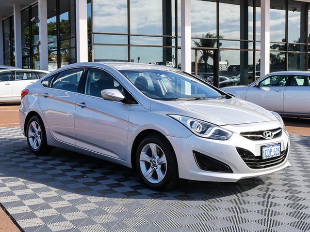 Used Hyundai i40 VF2 Active, 2013 Hyundai i40 VF2 Active Silver 6 Speed Sports Automatic Sedan