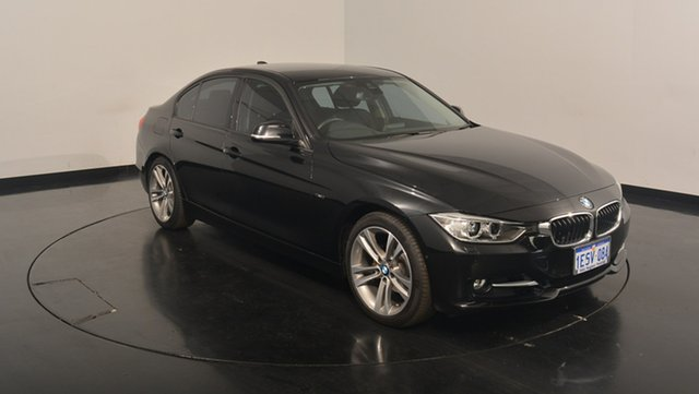 Used BMW 320i F30 MY1114 Sport Line, 2015 BMW 320i F30 MY1114 Sport Line Black 8 Speed Sports Automatic Sedan