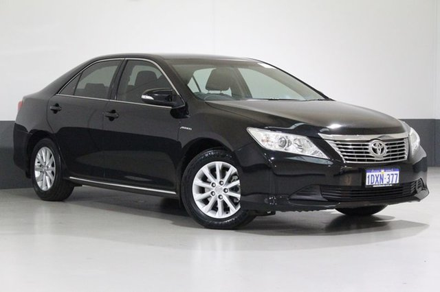 Used Toyota Aurion GSV50R AT-X, 2012 Toyota Aurion GSV50R AT-X Black 6 Speed Automatic Sedan