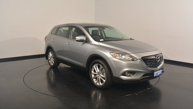 Used Mazda CX-9 TB10A5 Luxury Activematic AWD, 2012 Mazda CX-9 TB10A5 Luxury Activematic AWD Silver 6 Speed Sports Automatic Wagon