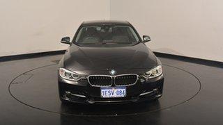 2015 BMW 320i F30 MY1114 Sport Line Black 8 Speed Sports Automatic Sedan