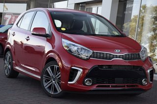 2019 Kia Picanto JA MY19 GT-Line Signal Red 4 Speed Automatic Hatchback.