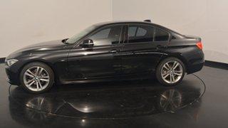 2015 BMW 320i F30 MY1114 Sport Line Black 8 Speed Sports Automatic Sedan.