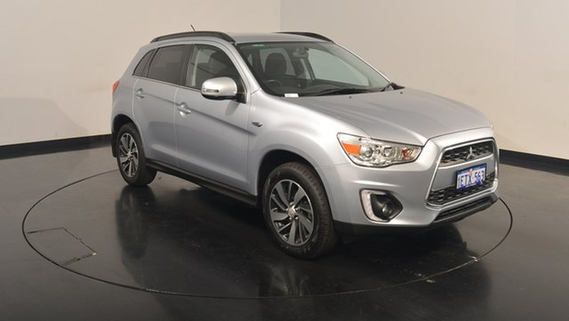 Used Mitsubishi ASX XB MY15 LS 2WD, 2014 Mitsubishi ASX XB MY15 LS 2WD Silver 6 Speed Constant Variable Wagon
