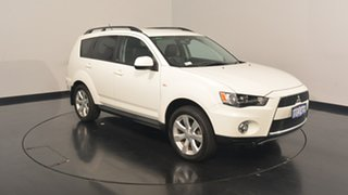 2011 Mitsubishi Outlander ZH MY12 30th Anniversary 2WD White 6 Speed Constant Variable Wagon