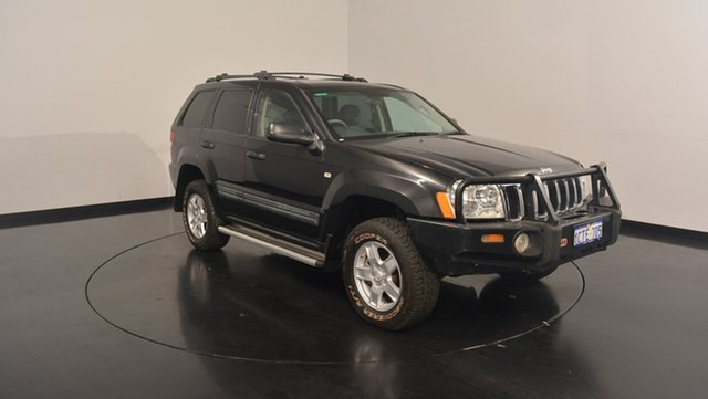 Used Jeep Grand Cherokee WH MY2007 Limited, 2008 Jeep Grand Cherokee WH MY2007 Limited Black 5 Speed Automatic Wagon