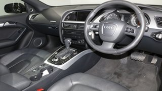 2012 Audi A5 8T MY12 S tronic quattro Black 7 Speed Sports Automatic Dual Clutch Cabriolet