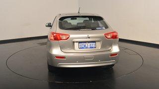 2013 Mitsubishi Lancer CJ MY13 LX Sportback Warm Silver 6 Speed Constant Variable Hatchback